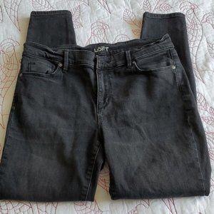 Ann Taylor Loft 30/10 P Black Legging